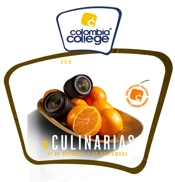 Logo tercer congreso de artes visuales y culinarias